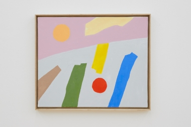 Art by Etel Adnan (Sfeir-Semler Gallery)