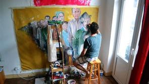 Syrian artist Abdalla Al Omari