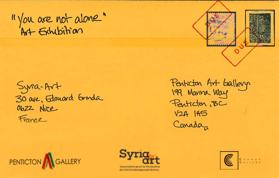 You Are Not Alone: An International Mail Art Exhibition